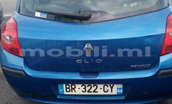 Acheter Voiture Renault Clio Bleu à Bamako en Mali