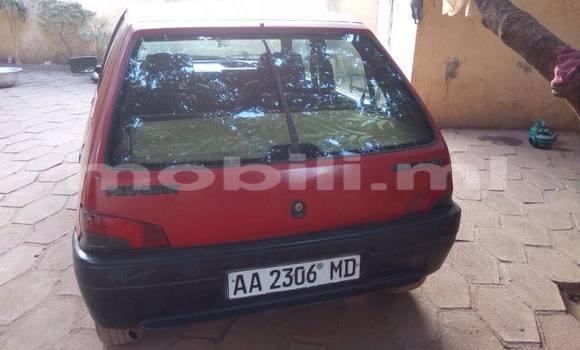 Acheter Voiture Peugeot 106 Rouge à Bamako en Mali