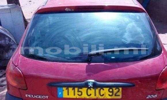 Acheter Voiture Peugeot 206 Rouge à Bamako en Mali