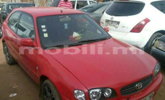 Acheter Voiture Toyota Corolla Rouge à Bamako en Mali