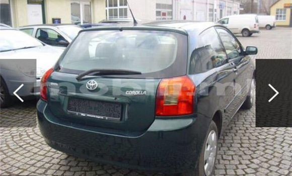 Acheter Voiture Toyota Corolla Vert à Bamako en Mali