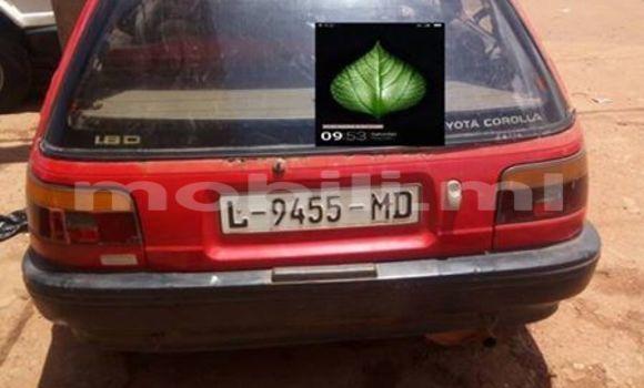 Acheter Voiture Toyota Starlet Rouge à Bamako en Mali